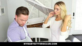 MyBabySittersClub – Blonde Teen Babysitter Helps Me Cum